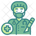 Surgeon Scalpel Doctor Icon