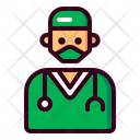 Surgeon Doctor Hospital Icon