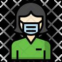 Surgeon Avatar Nurse Icon