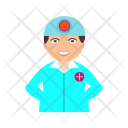 Surgeon Doctor Medical Icon