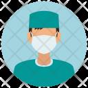 Surgeon Man Avatar Icon