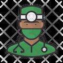 Surgeon Black Male Surgeon Black Icon