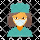 Surgeon female Icon
