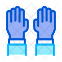 Surgeon Gloves Medical Icon