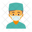 Doctor Male Mask Icon