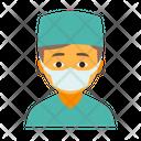 Surgeon male Icon