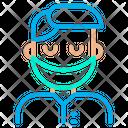 Surgeon Man Icon