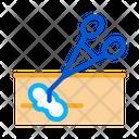 Surgeon Clamp Scalpel Icon
