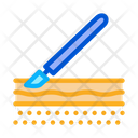 Surgical Incision Scalpel Icon