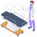 Surgical Bed Icon