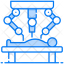 Surgical Robot Operation Surgery Icon