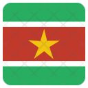 Suriname National Country Icon