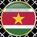 Suriname Surinamese Sur Icon