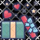 Surprise Gift Box Present Box Icon