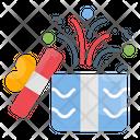Birthday Christmas Gift Icon