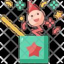 Surprise Box Crank Jack In The Box Icon