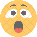 Astonished Face Surprised Icon