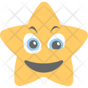Surprised Star Joyful Icon
