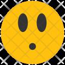 Surprised Emoji Smiley Icon