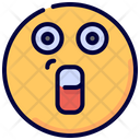 Surprised Emoji Emot Icon