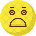 Surprised Wink Gaze Emoticon Icon