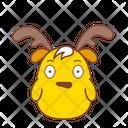Surprised Scared Sticker Icon