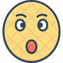 Surprised Astonished Bewildered Icon
