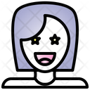 Surprised Feeling Face Icon