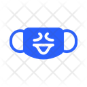 Surprised Mask Virus Icon