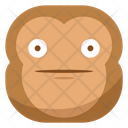 Surprised Monkey Emoji Icon