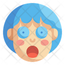 Surprised Emoji Emoticons Icon