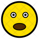 Surprised Eyes Face Icon