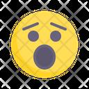 Surprised Shocked Taken Aback Icon