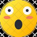 Surprised Smiley Avatar Icon