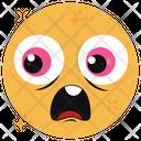 Astonished Emoji Emoticon Shocked Emoji Icon