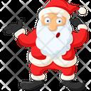 Surprised Santa Icon