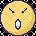 Surprises Baffled Emoticon Emoticons Icon