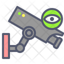 Surveillance Cctv Camera Icon