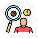 Surveillance Moles Dermatology Icon