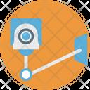 Surveillance Color Icon
