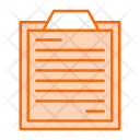 Survey List Business Icon
