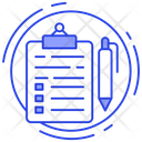 Survey Writing Editing Icon