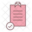 Survey Paper Checkmark Icon