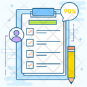 Survey Checklist Verified List Icon