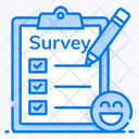 Survey Feedback Evaluation Icon