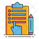 Survey Check Checklist Icon