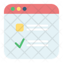 Survey Checklist Feedback Icon