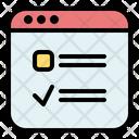 Survey Checklist Feedback Icon