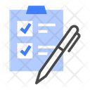 Business Survey Research Icon