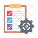Checklist Survey Interview Icon